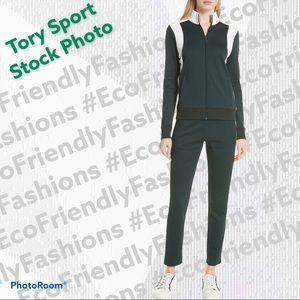 TORY SPORT BY TORY BURCH Colorblock Track Suit